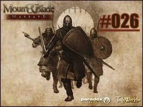 Warband #026-Intriegen unter meinem Banner !! / Let's Play Mount & Blade Warband Ps4