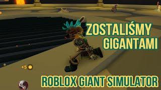 Zostaliśmy GIGANTAMI w ROBLOX!! -Roblox Giant Simulator-Dadsonpl vs Jassonpl-mnie zdeptał
