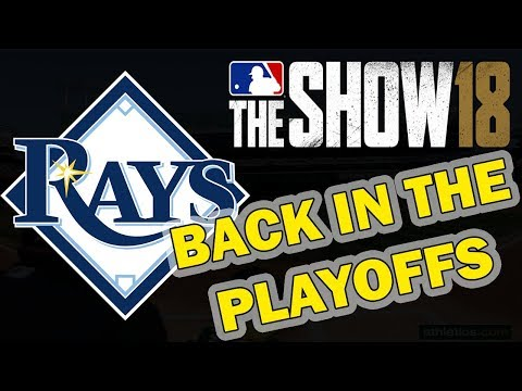 BACK IN THE PLAYOFFS | TAMPA BAY RAYS FRANCHISE EPISODE 14 | MLB 18 FRANCHISE