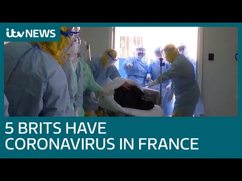 Child Is Among Five Britons With Coronavirus In France | ITV News
