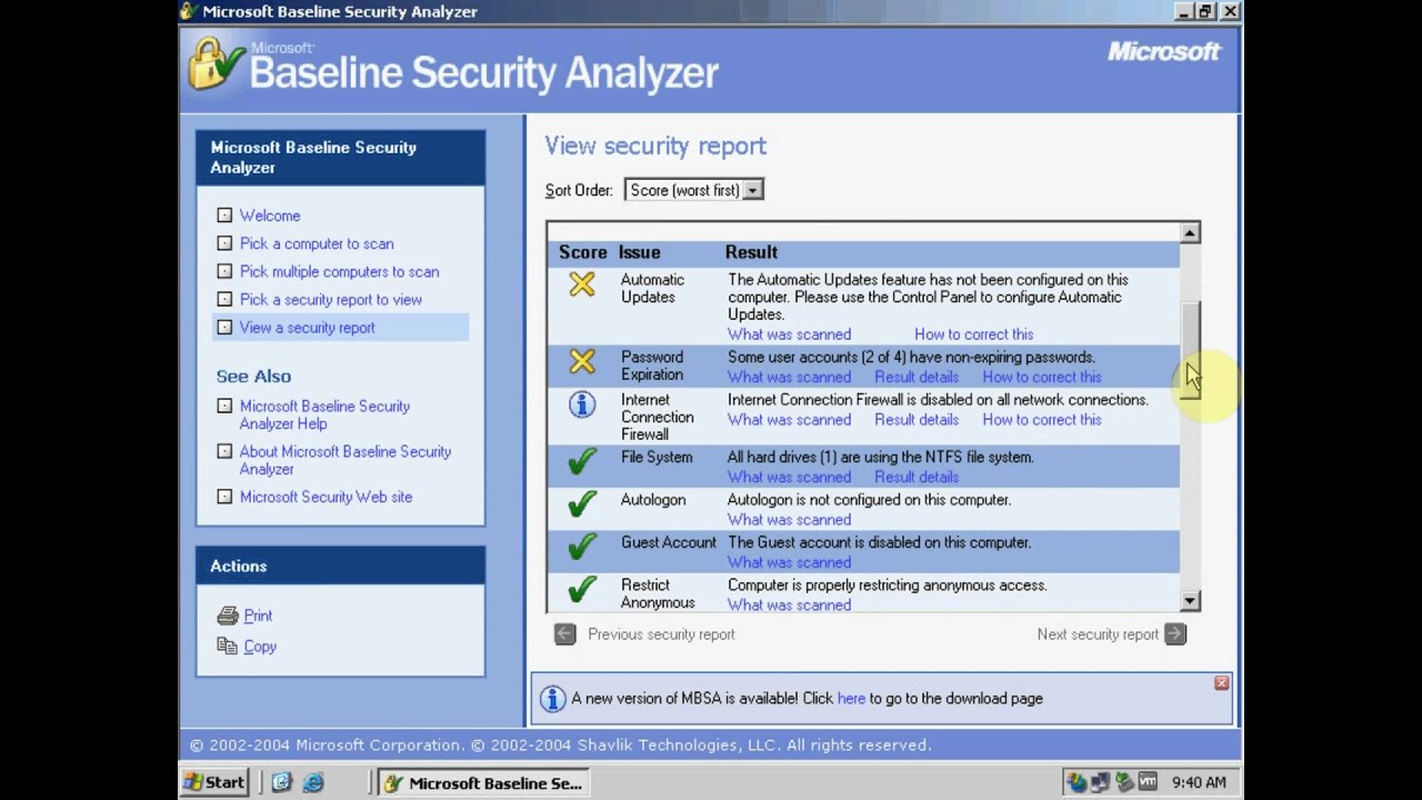 7iun How To Security Certification Maintaining Baseline Security
