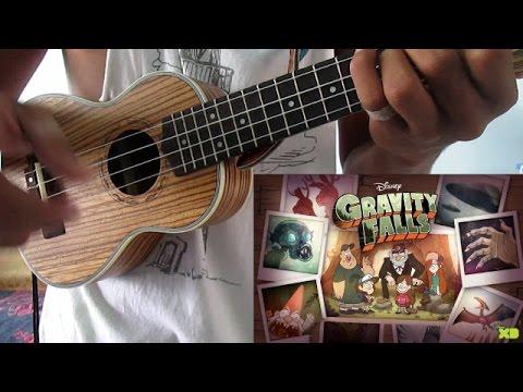 Gravity Falls Intro - Ukulele Tutorial - Completo