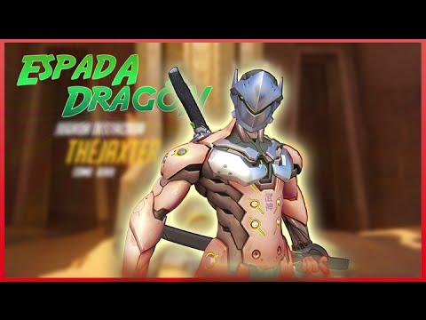 DEFENDIENDO CON UN SHIMADA - Overwatch | TheJaxter