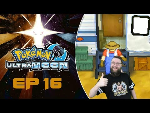 16.  Welcome to Fossil Park - Pokemon Ultra Moon - Lets Play