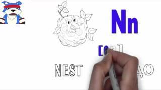 дудл видео английский алфавит урок 14(, 2016-04-15T17:48:41.000Z)
