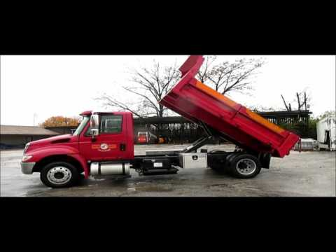 2006 International DuraStar 4300 dump truck for sale | sold at auction  December 30, 2015