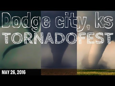 Dodge City, KS Tornado Outbreak - 5/24/16