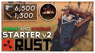 """""""Starter v2"""" - BEAST Starter Base   Rust Base Building"""
