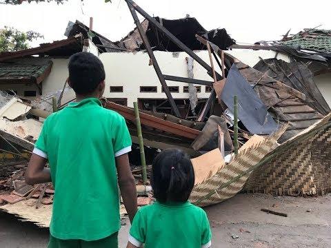 Laat op 1 KRO NCRV - Lombok aardbeving: Kindertehuis Peduli Anak Live