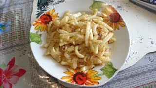 Жареные кальмары с луком от Валерии Влади