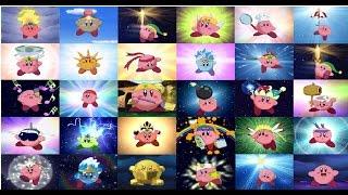 Todas las transformaciones y ataques de Kirby