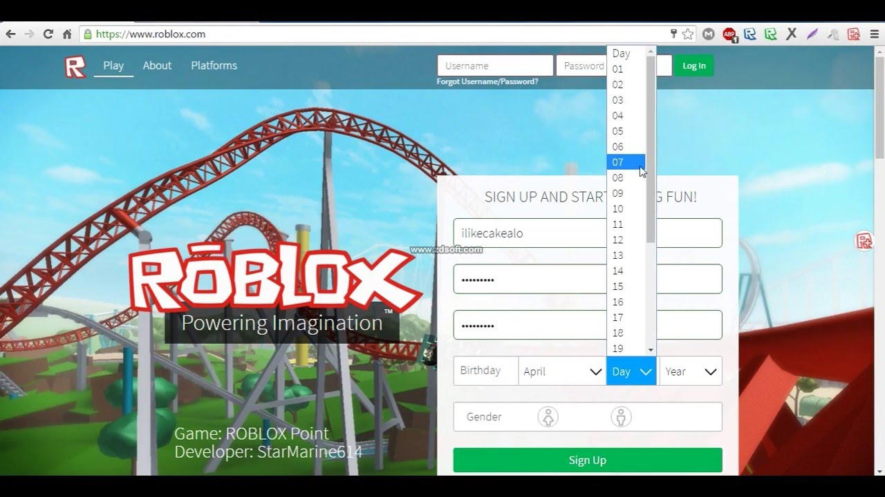 How To Change Your Roblox Age Even If Under 13 Youtube