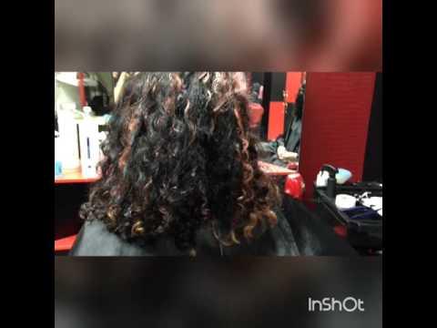 Голливудская стрижка с каскадом на длинные волосы / Красивая стрижка на длинные волосы