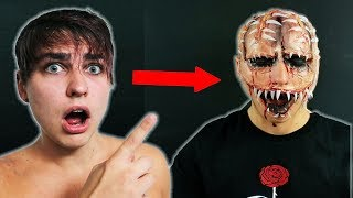 Most Terrifying Halloween Makeup Transformation