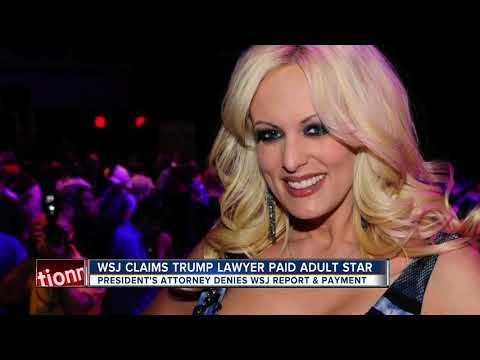 Wall Street Journal reports Trump had a sexual encounter with a porn star who lived in Tampa