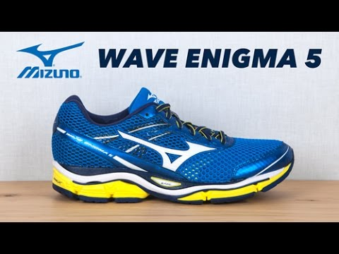 running shoe preview mizuno wave enigma 5 youtube. Black Bedroom Furniture Sets. Home Design Ideas