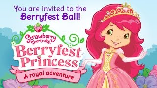 Strawberry Shortcake Berryfest Princess Part 1 - iPad app demo for kids - Ellie