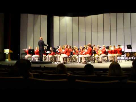 Daviess County Middle School Band from Owensboro, Ky March 24, 2011 Playing Woodland Odyssey