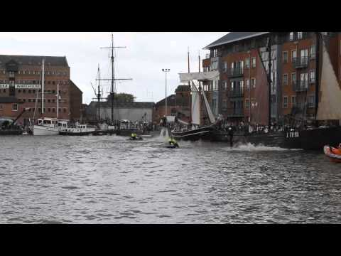 flyboard gloucester tall ships 2015