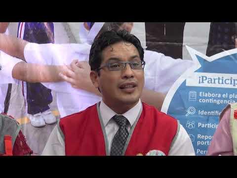 Conferencia de Prensa I Simulacro Nacional Escolar 2018