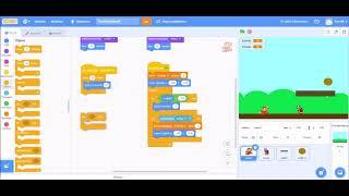 Scratch 4 - Muuttujat ja vuorovaikutus hahmojen välillä