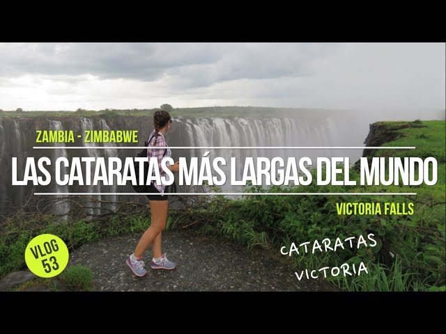 Las cataratas más largas del mundo 🌎 Victoria Falls ✌️😎