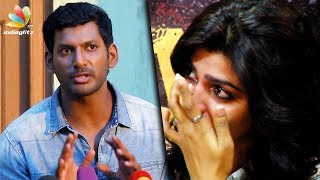 Vishal hits out at T Rajendran for insulting Dhansika | GST Pressmeet