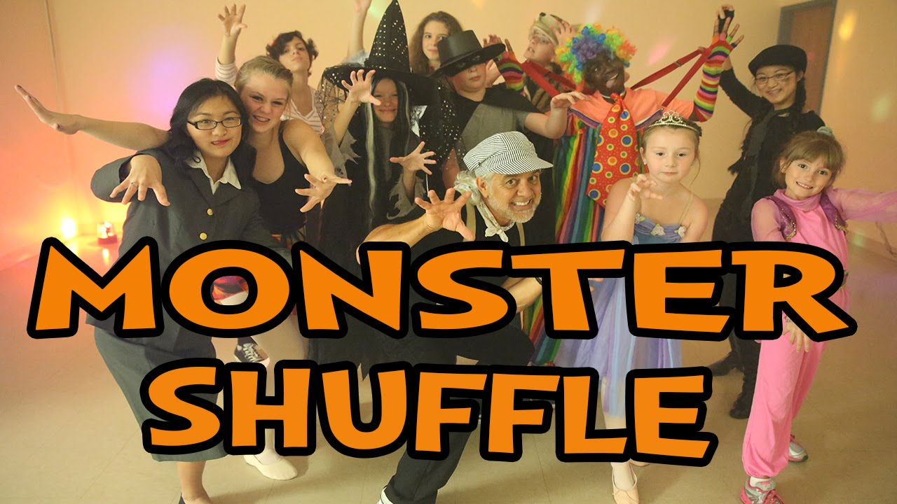 monster shuffle halloween dance song for children popular halloween kids dance songs - Dance Halloween Songs