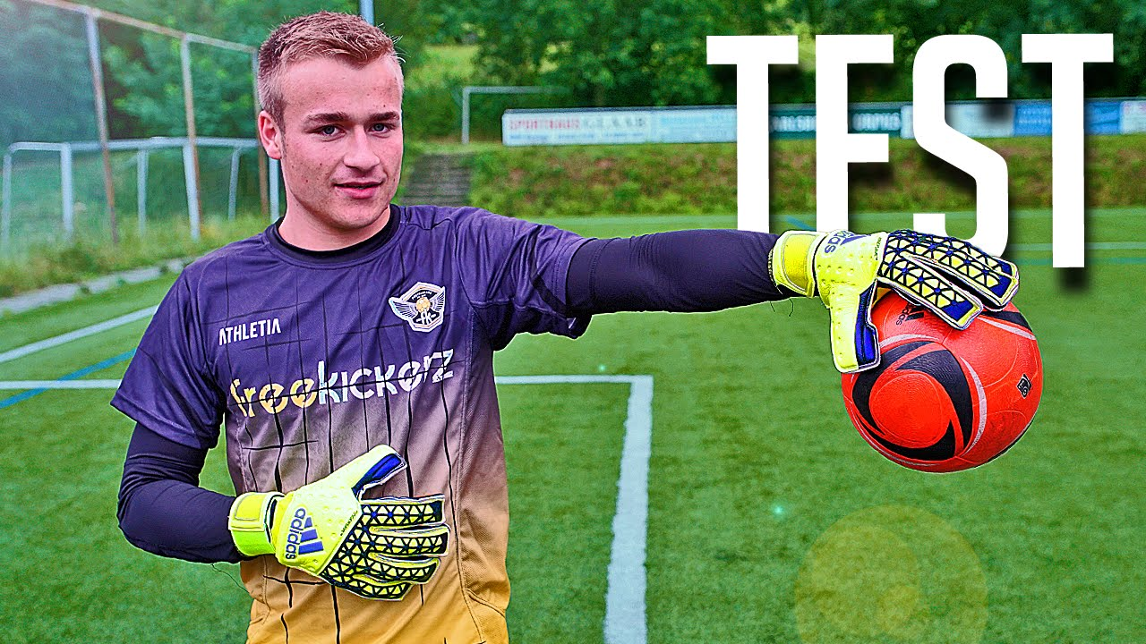 adidas ace zones fingersave goalkeeper gloves test review by freekickerz youtube
