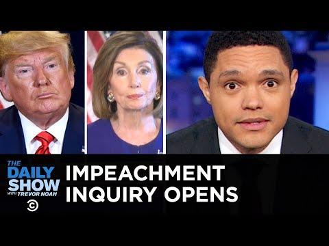 Trump Pressures Ukraine to Investigate Biden & Impeachment Looms | The Daily Show