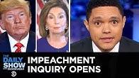 Trump Pressures Ukraine to Investigate Biden & Impeachment Looms   The Daily Show