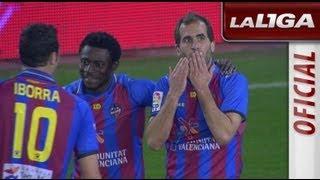 Resumen de Valencia CF (2-2) Levante UD - HD