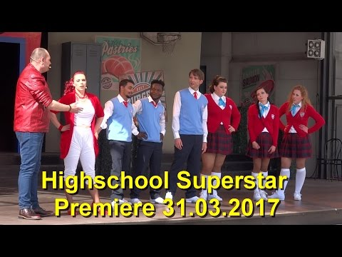 Movie Park 2017 Highschool Superstar - Premiere 1. Vorstellung 2017 – Musik Show 31.03.2017
