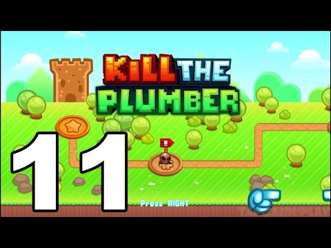 Kill the Plumber World - Gameplay Walkthrough Part 11 - World 9: Levels 121-132 (iOS, Android)