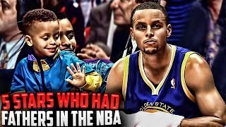 top 5 stars who had their fathers in the nba ft stephen curry dell curry