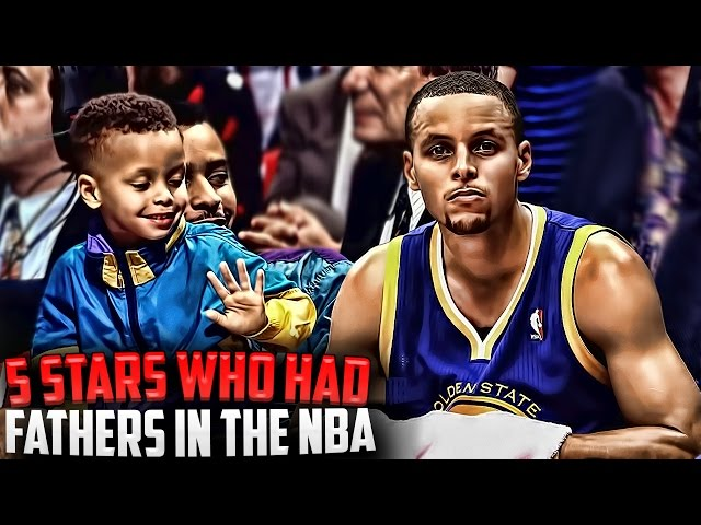 Top 5 STARS Who Had Their Fathers IN THE NBA! Ft Stephen Curry + Dell Curry!