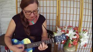 'Starry Night 'solo on Luna Starry Night Ukulele