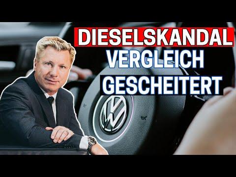 VW SCHOCK: Vergleich im Dieselskandal gescheitert! Was kann ich dagegen tun?