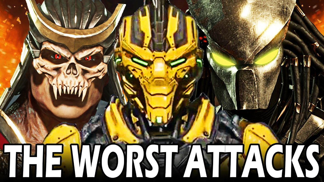The Most Awful X-Ray Attacks in Every Mortal Kombat Game!