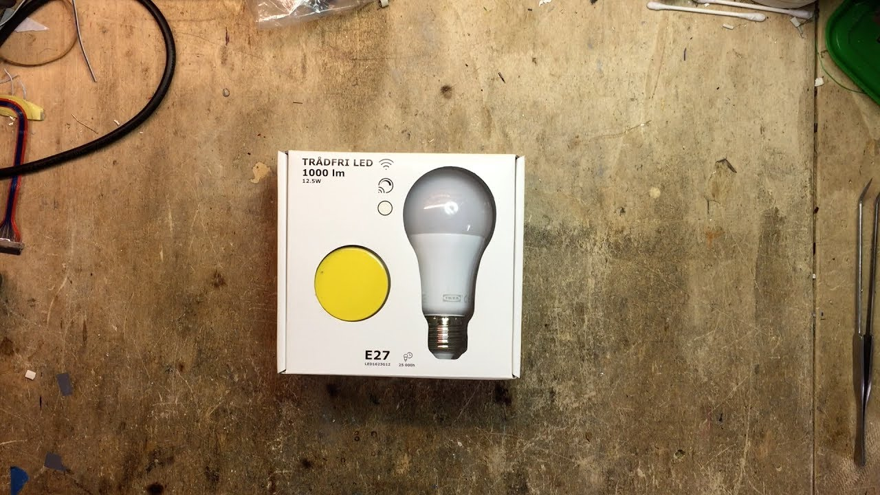 ikea tr dfri wireless dimmer starter kit first look review tradfri vs philips hue europe 220v