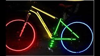 Como hacer reflectiva tu bicicleta