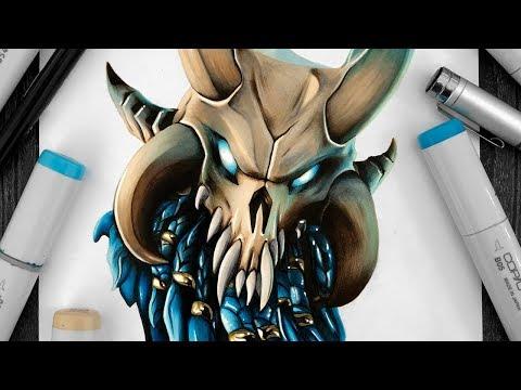 Drawing Ragnarok - Fortnite Battle Royale