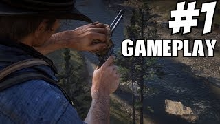 Red Dead Redemption 2 Gameplay Walkthrough Part 1 Guide Developer Commentary