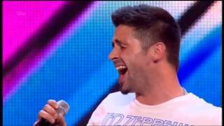 THE X FACTOR 2014 STAGE AUDITIONS - BEN HAENOW
