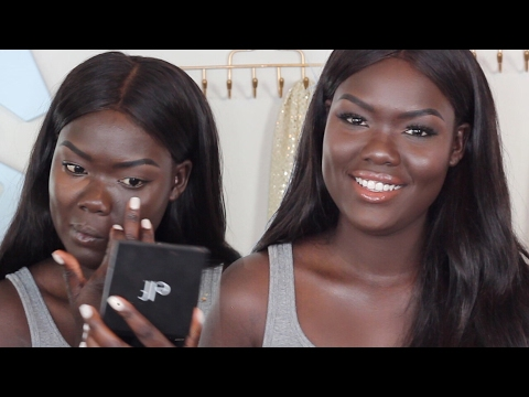 MY EVERYDAY MAKEUP ROUTINE FOR DARK SKIN