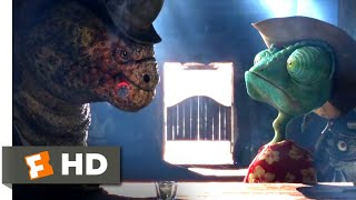 Rango (2011) - Trouble at the Saloon (3/10) | Movieclips
