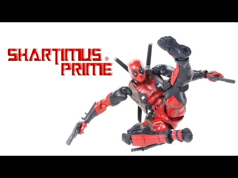 Revoltech Deadpool 6 Inch Amazing Yamaguchi Figure Complex Marvel Import Comic Figure Review
