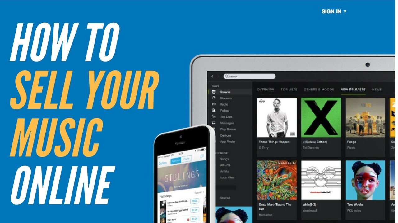 how to put your music on itunes and spotify