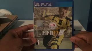 FIFA 17 Standard Edition PS4 Unboxing