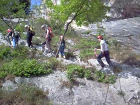 Klettersteig Arco : Colodri klettersteig bei arco am gardasee auf den berg
